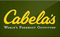 $15.21 Cabela's Gift Cards