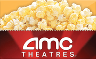 $25 AMC Theatres Gift Cards