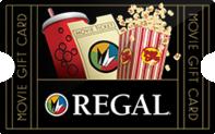 $50 Regal Cinemas Gift Cards