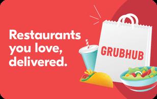 $25 GrubHub Gift Cards